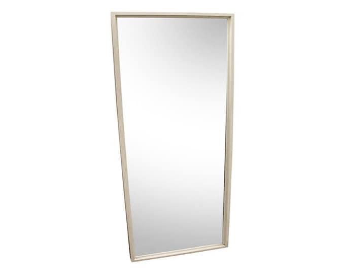 Paul McCobb for Planner Group Mid-Century Modern Long White Wall Mirror