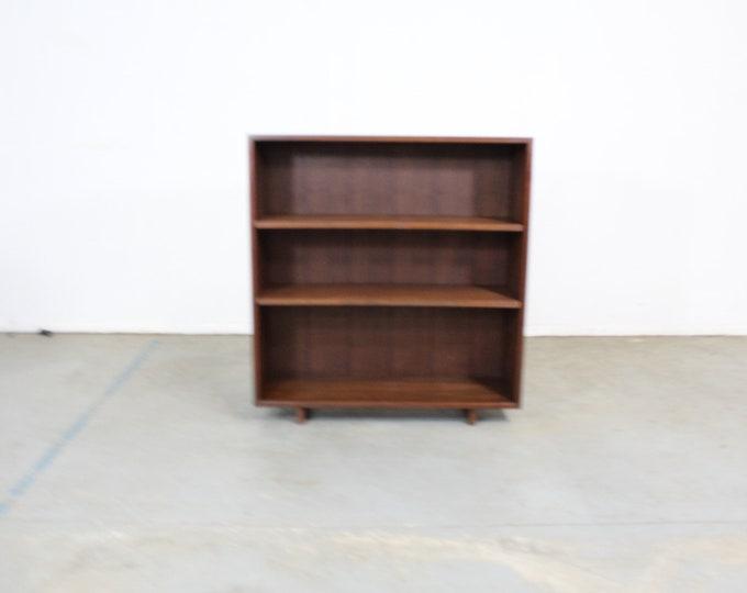 Mid Century Danish Modern Walnut Bookcase