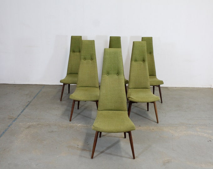 Set of 6 Mid-Century Modern Adrian Pearsall for Craft Associates Dining Chairs