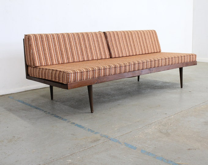 "Mid-Century Modern Walnut Daybed/Sofa 76"""