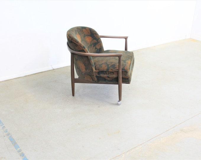 Mid-Century Danish Modern Finn Andersen Barrel Back Club Chair