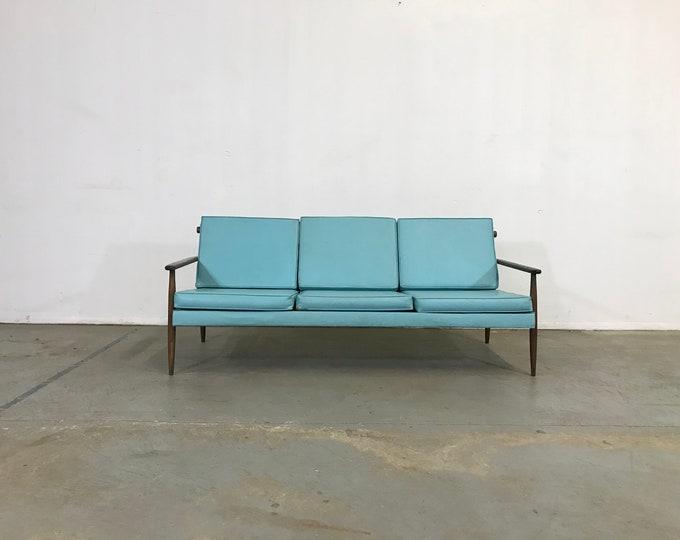 Mid-Century Modern 3 Cushion Vikko Sofa