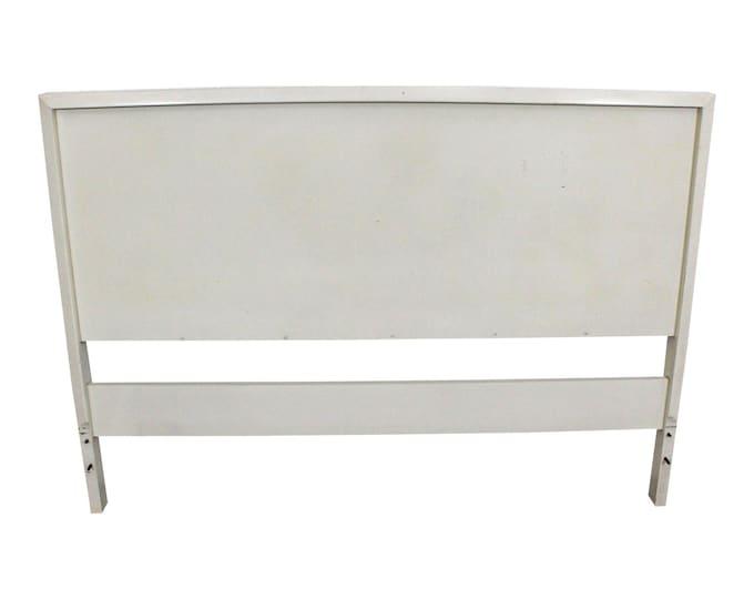 Mid-Century Headboard Danish Modern White Paul McCobb Planner Group Full Size Headboard