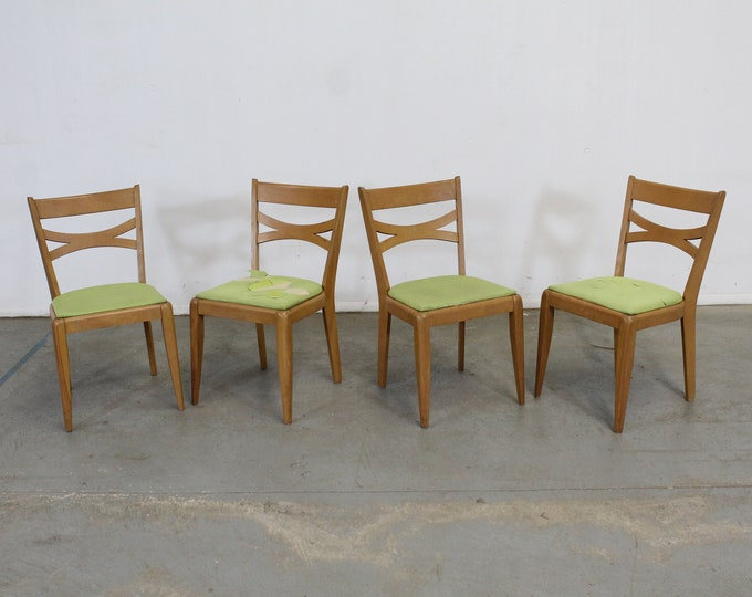 Set of 4 Mid-Century Modern Heywood Wakefield Dining Chairs