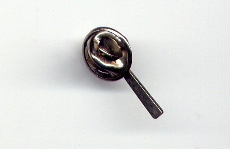 Vintage Men/'s Silver Tone Hammer Tie Tack