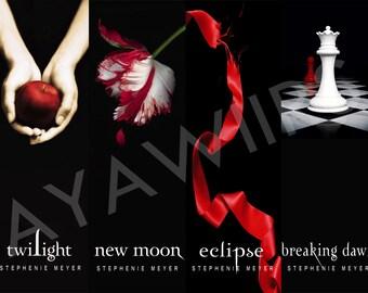 "Digital Download, Printable Bookmarks ""Twilight"""