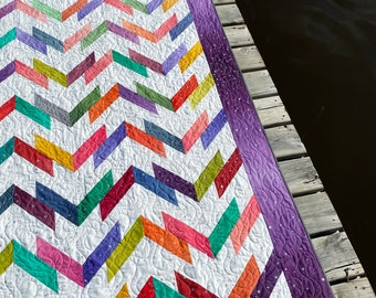 Washboard Road - Paper Quilt Pattern