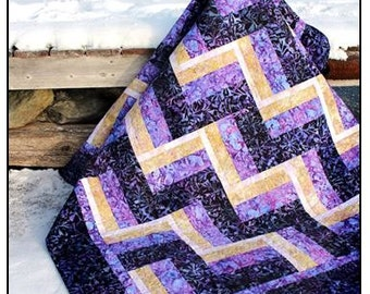 Not Your Mother's Rail Fence - PDF Quilt Pattern