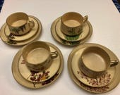 Satsuma 4 Place Settings Tea Set
