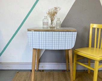 Mid Century Vintage Folding Formica Table