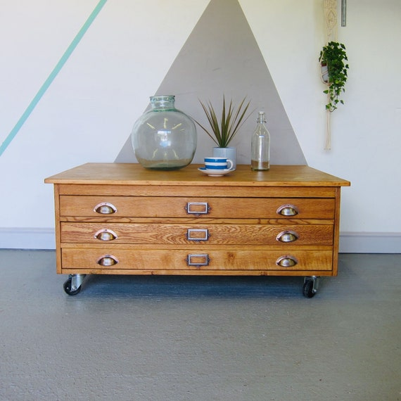 Incredible Architects Plan Chest Drawers Coffee Table Industrial Map Art Storage Evergreenethics Interior Chair Design Evergreenethicsorg