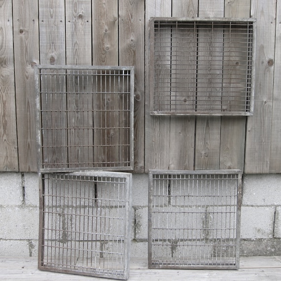 Industrial Vintage Rack Metal Bread Factory Kitchen Trays