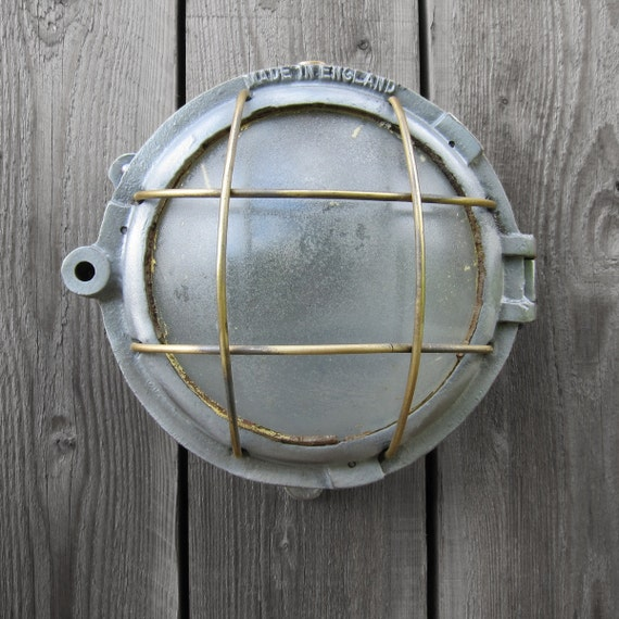 Industrial Bulkhead Wall Light Ship - Great Feature Light Lamp