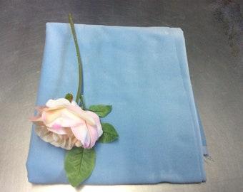SKY BLUE - Cotton Dressmaking Velvet Fabric - Lightweight