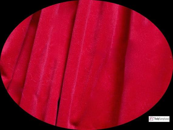 112cms wide Short Pile 240gsm Pre cut Five Metre Piece of OLIVE GREEN Cotton Dressmaking Velvet  Veleveteen