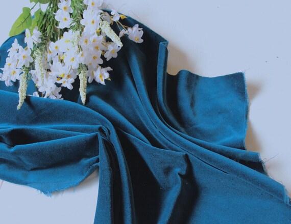 DARK GREY Cotton Velveteen for Dressmaking 142 cms Wide 240 gsm