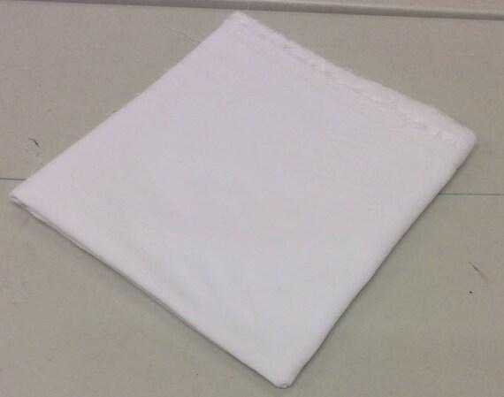 Pré coupe cinq mètres pièce couture de coton couture pièce velours blanc / Veleveteen. 112cms large, 240gsm. Poil court 4dc04e