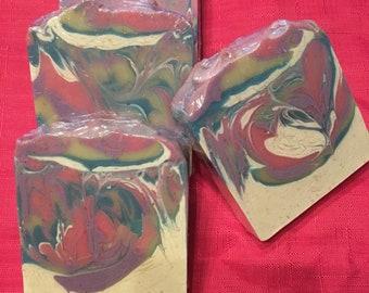 Black raspberry vanilla (cold process soap)....