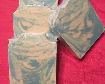 Blue moon (cold process soap)....