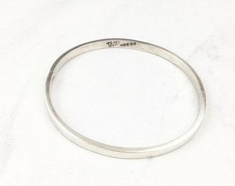 Vintage Sterling Silver 925 Bracelet Silver Bangle Bracelet Vintage Sterling Silver 925 Malachite Taxco  Bangle Cuff Clamp Bracelet