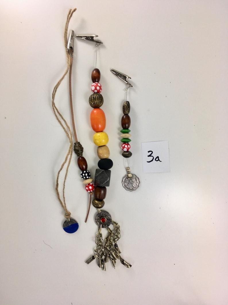 No3a Jack Sparrow Replica Pirate Costume Jewelry Beads Set image 0