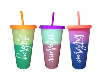 Venti Cold Cup - Color Changing Cup - Cold Cup - Gifts for Her