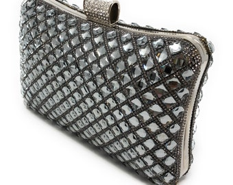 Grey Wedding Clutch a07b59b95bbe8