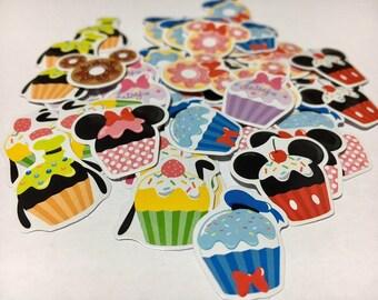 Disney Flake stickers 50 pcs