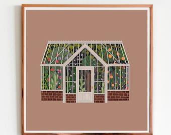 Greenhouse (6x6 PRINT)