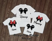 Disney Family Vacation Shirt White Castle Bella Canvas Unisex, Youth, Toddler, Infant and Anvil Ladies