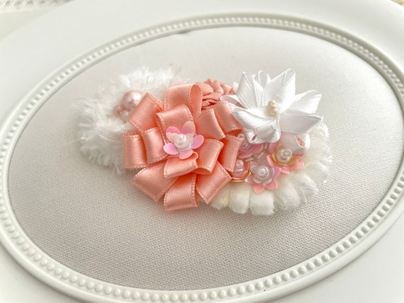 Ready to Ship! Special hair clip accessory for girls Flower girl headpiece