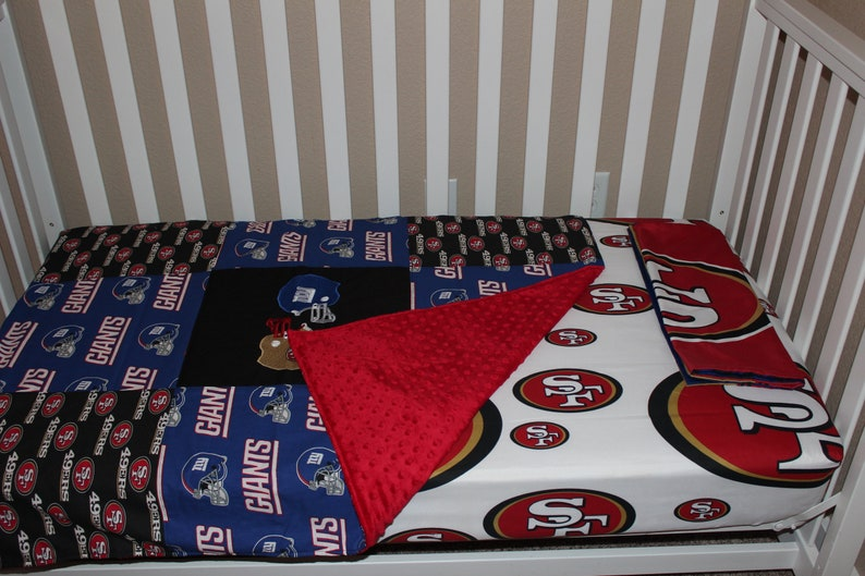 Head to Head Football Crib Baby Bedding Set NFL | Etsy