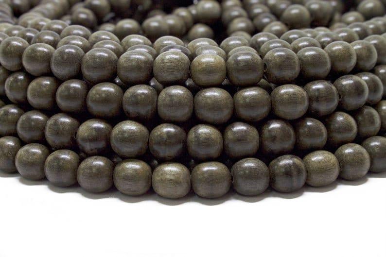 Choose your color BULK 8mm Premium Natural Round Wood Beads 30 strands