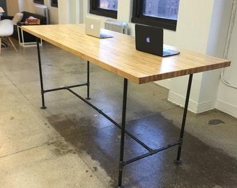 Terrific Large Computer Desk Etsy Download Free Architecture Designs Rallybritishbridgeorg