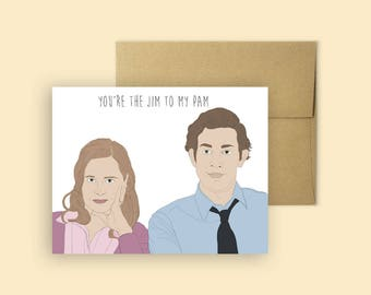 Cards for people you actually like by margwarg on etsy