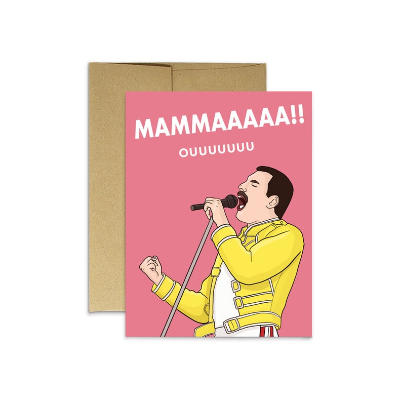 MAMA Mother's Day Card  Funny Cards for Mom  Pop image 0