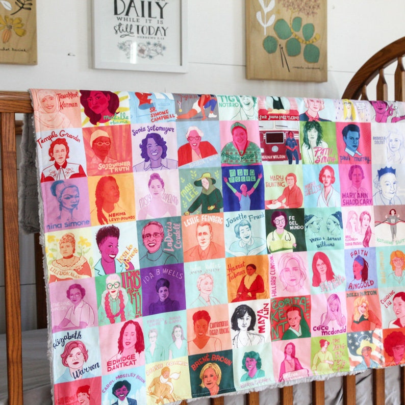 Baby blanket  Badass babes  women  feminist  strong  image 0
