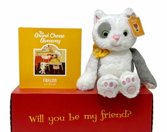 Farlee and Friends ~ The Grand Cheese Giveaway ~ with Haddie Cat Plush