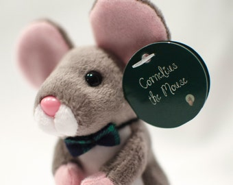Plush mouse - Stuffed Mouse - Storybook Mouse - Small Gift - Minature - Collectible