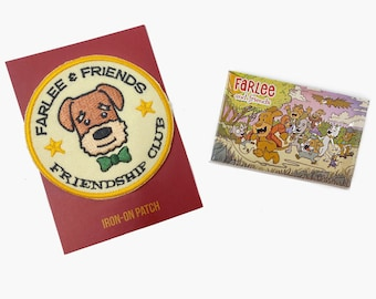 Farlee and Friends Friendship Patch and Pin