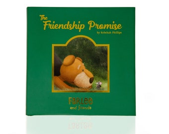 Farlee and Friends ~ The Friendship Promise - Airedale Terrier - Children's book by award-winning artist Rebekah Phillips