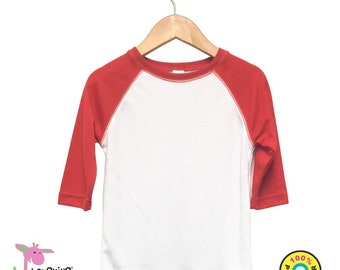 a3cc7dbc406ea Blank Toddler Baseball shirt
