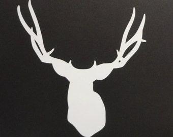 Deer silhouette Decal