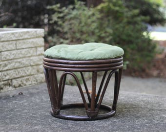 Antique Furniture Bentwood Footstool Or Gout Stool. Edwardian (1901-1910)