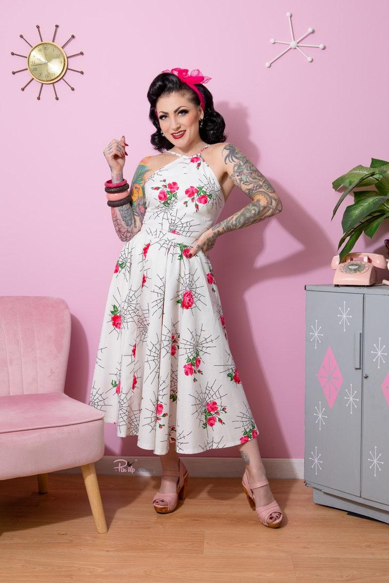 1950s Style Clothing & Fashion VioletsinMay1945 Lucille skirt set  AT vintagedancer.com