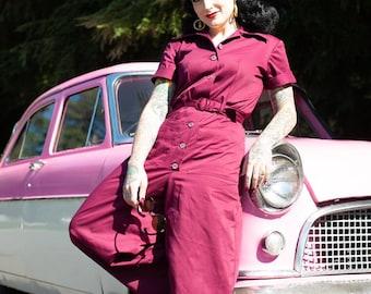 Rosie 1940s work overalls