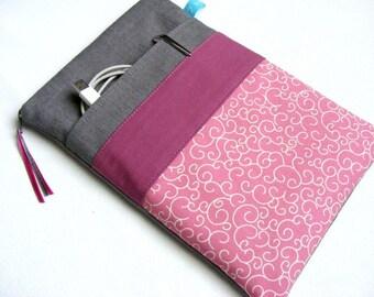 Notebook Case 11-17 inch Grey Rosewood Rosé Zipp