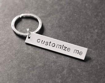 Personalized keychain | Etsy