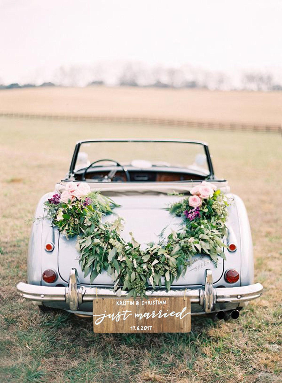 Just Married Hochzeitsauto