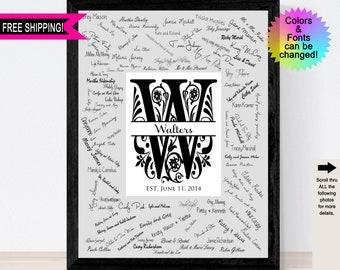 Signature Mat Print Etsy